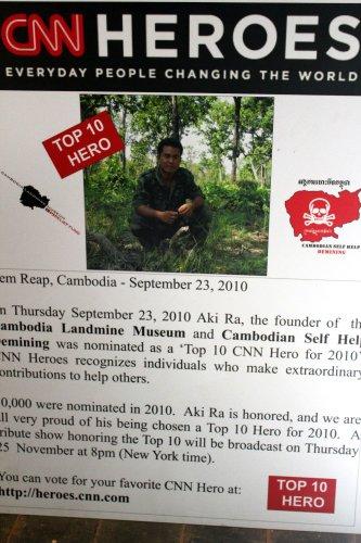 the cambodia landmine museum