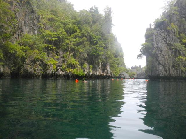 small lagoon, el nido