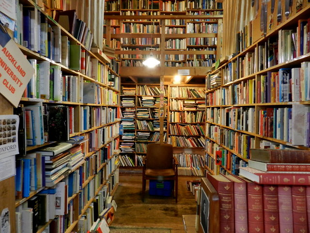 hard to find bookshop, auckland