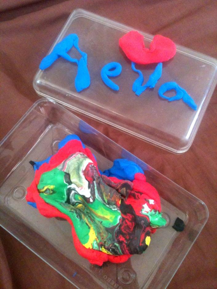 clay modeling with aeva