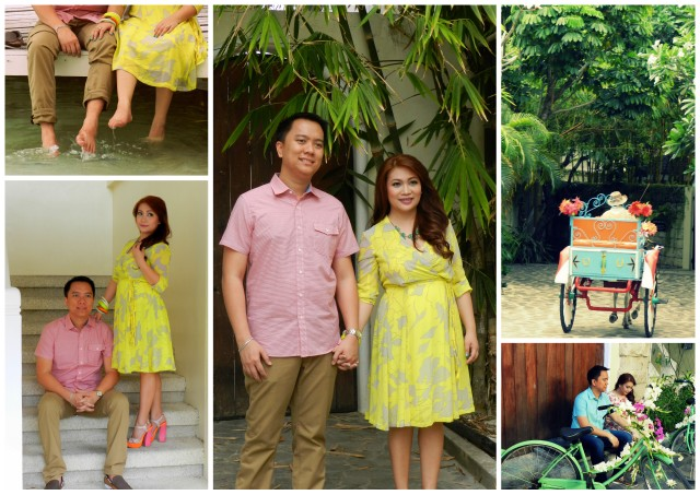 gayle and aj's pre-wedding shoot