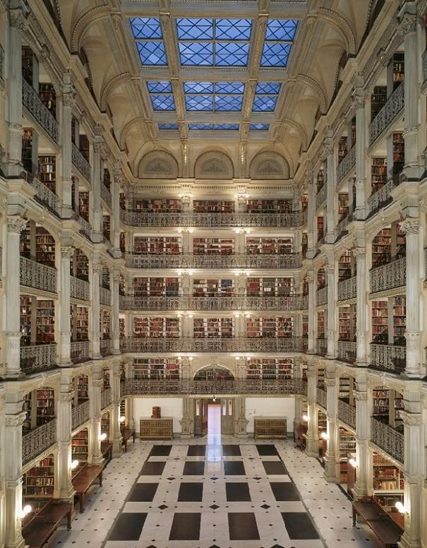 George Peabody Library – Baltimore, Maryland