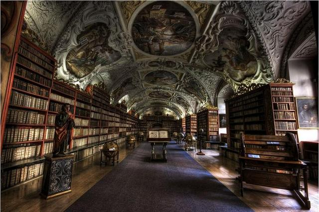 Strahov Theological Hall – Prague, Czech Republic