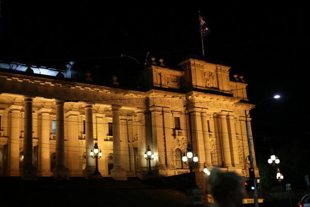 parliament building, melbourne