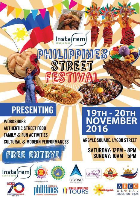 philippines street festival