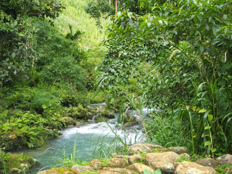 cambais falls, alegria, cebu, philippines