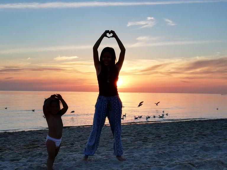 edithvale beach sunset