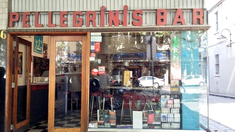 Pellegrini's bar, melbourne