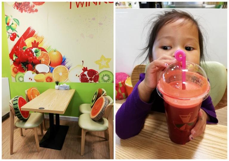 twinkle juice bar, dandenong